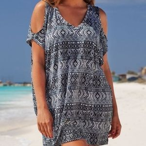 Swinsuits for All I NEW Cold Shoulder Cover Up